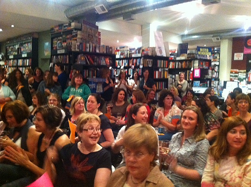 The audience at Witty Women Writers!
