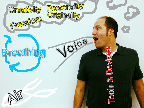 """What is """"voice"""" in writing and how is it created? Why is it important to add voice to your writing? (Danny's Symbolic)"""