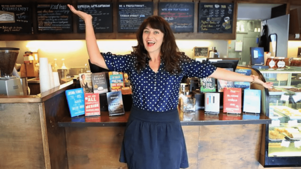 Carrie Rollwagen, author of The Localist and co-owner of Church Street Coffee & Books