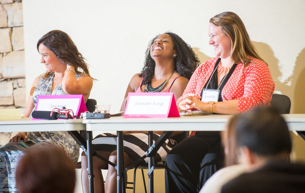 Maybe we were having too much fun on the Blog Like a Boss Panel.