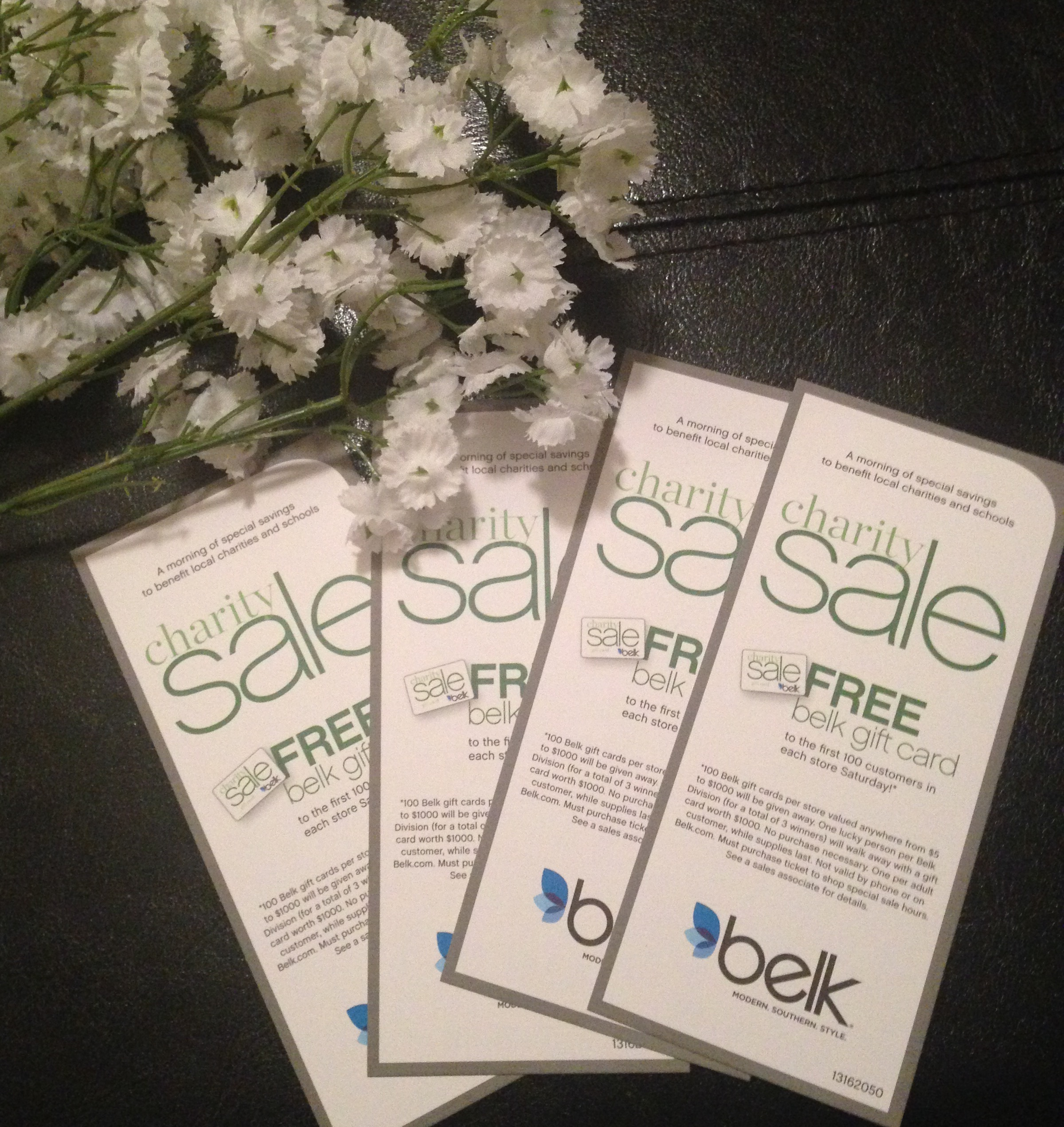 Belk Charity Sale is Tomorrow! - See Jane Write