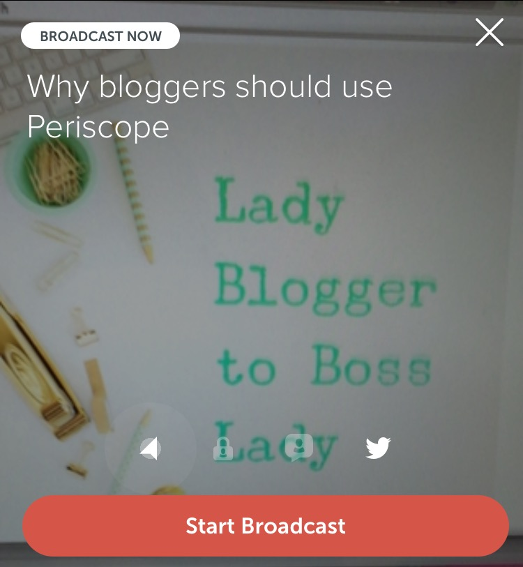 periscope broadcast