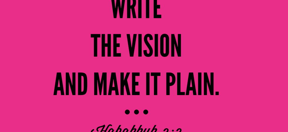 write the vision 2