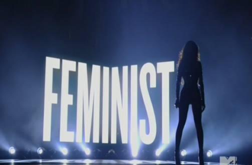 Beyonce Femininst VMAs