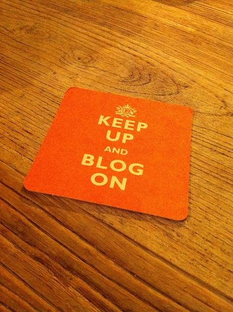 Keep Up and Blog On
