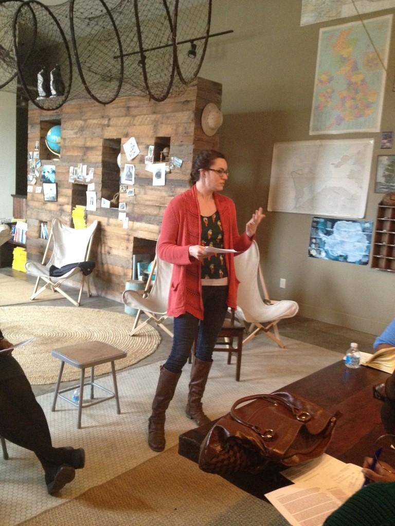 Anne teaching