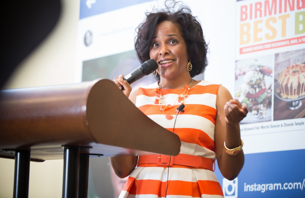 During her morning keynote address, Chanda Temple explained how to build your personal brand.