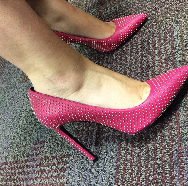 A cute pair of shoes could be a great conversation starter at your next networking event. (Photo by Chanda Temple)