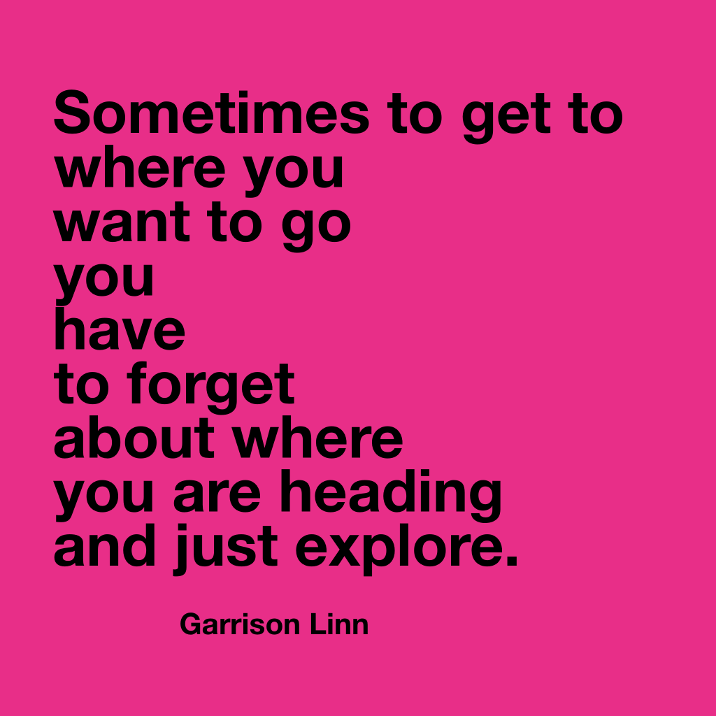 Garrison Linn quote