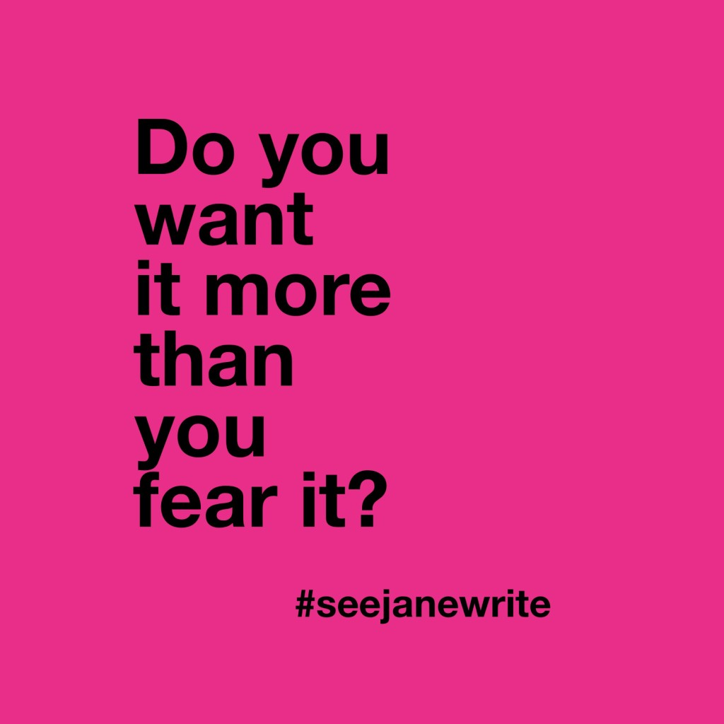 more than you fear it